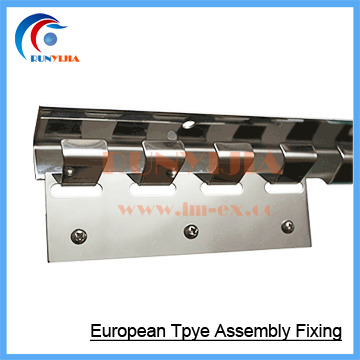 assembly fixing for pvc door curtains