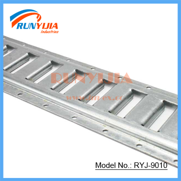 zinc plated truck body parts e-track