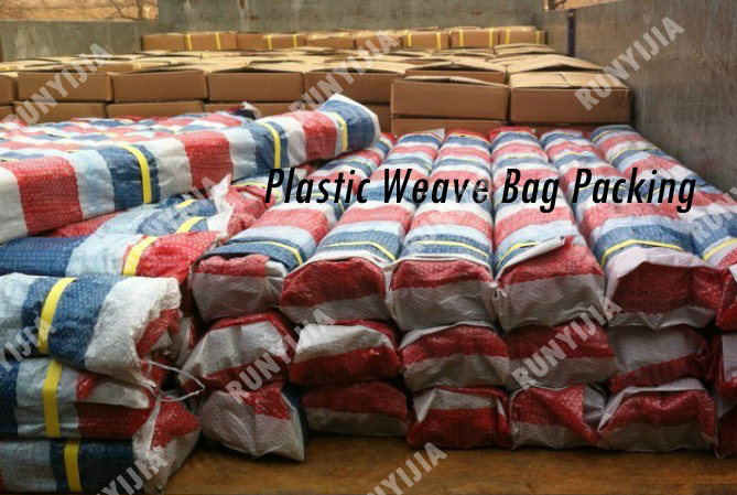 plasti weave bag packing for hanging system pvc strip