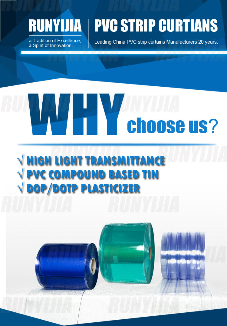 why choose our polar pvc strip door